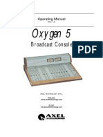 Axel Oxygen 5 User Manual ENG Rev.1.3