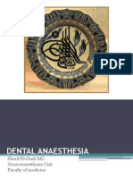 Dental Anaesthesia Masters Dental