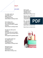 choir christmas songs