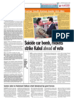 thesun 2009-08-19 page10 suicide car bomb rockets strike kabul ahead of vote