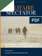 Dimitriu, Tuinman & Van Der Vorm - Operationele Ontwikkelingen Nederlandse Special Forces (MS 2012)