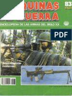 Maquinas de Guerra 083 - Ametralladoras Modernas