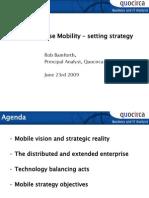Enterprise mobility - setting strategy