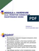 02 03 Corrective Maintenance Work