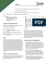 Fp75 - Cp75 - Fp15 - Cp15 User Instr