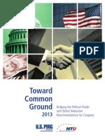 USPIRG-NTU Report on Deficit Reduction