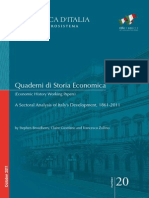 A Sectoral Analysis of Italy's Development, 1861-2011