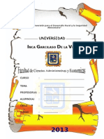 Garcilaso Administracion- Solo - 0.10