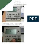 Pasos Para Programar El Timer OMROM H5S
