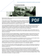 Dietrich Bonhoeffer La Gracia Barata