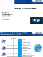 Employees, content and the elusive firewall