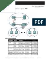 Examen de Un Paquete ICMP