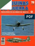 Maquinas de Guerra 078 - Aviones Embarcados de La II Guerra Mundial