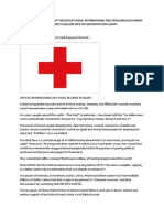 Red Cross Exposes the Holocaust Lie