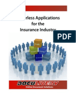 Paperless Apps for the Insurance Industry