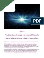- BIDI - Prácticas Esenciales para acceder al Absoluto
