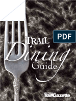 Estes Park Dining Guide 2008