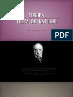 Europa si ideea europeana