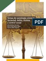 Uned - Temas de Sociologia Criminal - Sociedad Delito Victima Y Control Social