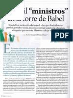 """Tres Mil Ministros en la Torre de Babel"""