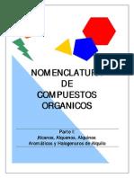 Nomenclatura de Compuestos Organicos. Parte I