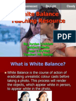 White Balance Teaching Resource
