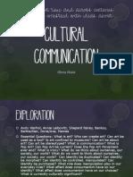 cultural communication unit