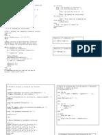 Cuatro programas de matlab (clase 3-métodos 2)