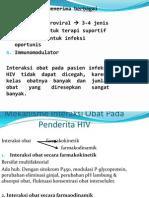 Interaksi Obat-Obat Untuk HIV Dan Infeksi