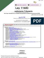 Ley 11683