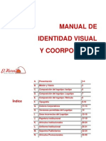 "Manual de Identidad Visual y Corporativa de ""El Hornito"" Pizzería - Restaurante"