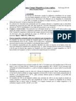 PTOBLEMAS DE CAMPO MAGNÉTICO Y OPTICA
