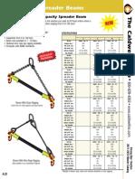 Cadwell High Capacity Spreader Beam A_SB_22-23