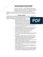 Massachusetts History and Social Science Framework Overview ( Plymouth)