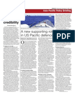 Embassy Op-Ed - Canada-US Defence Cooperation in Asia