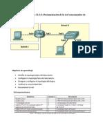 11.5.5Documentación de la red con comandos de utilidades