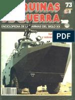 Maquinas de Guerra 073 - Vehículos Anfibios y Sobrenieve Modernos