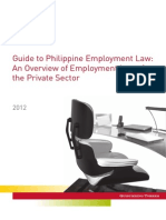 Guide to Philippine Employment Law