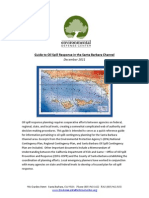 Guide to Oil Spill Response in the SB Channel December 2011