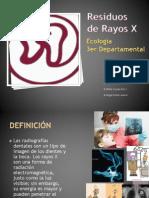 Residuos de Rayos X
