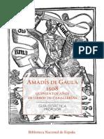 Amadís de Gaula-Guia-Profesor