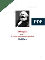 Karl Marx - El Capital - Tomo 1