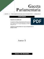 Cambios a la reforma política