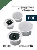 Ceiling Speaker User Manual