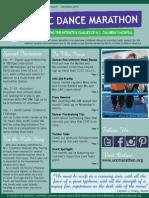 UNC Dance Marathon December 2013 Newsletter