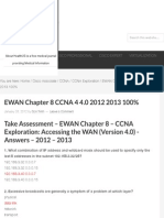 EWAN Chapter 8 CCNA 4 4.0 2012 2013 100% - HeiseR Dev Zone