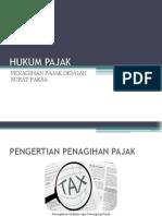 Hukum Pajak Pertemuan Ke 9-Penagihan Pajak Dengan Surat Paksa