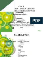 Case Taufik Rahman Tetralogi Fallot