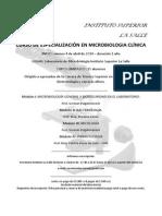 Curso de Especialización en Microbiología Clínica