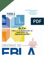 Gua Para La Elaboracin de Manuales de Organizacin